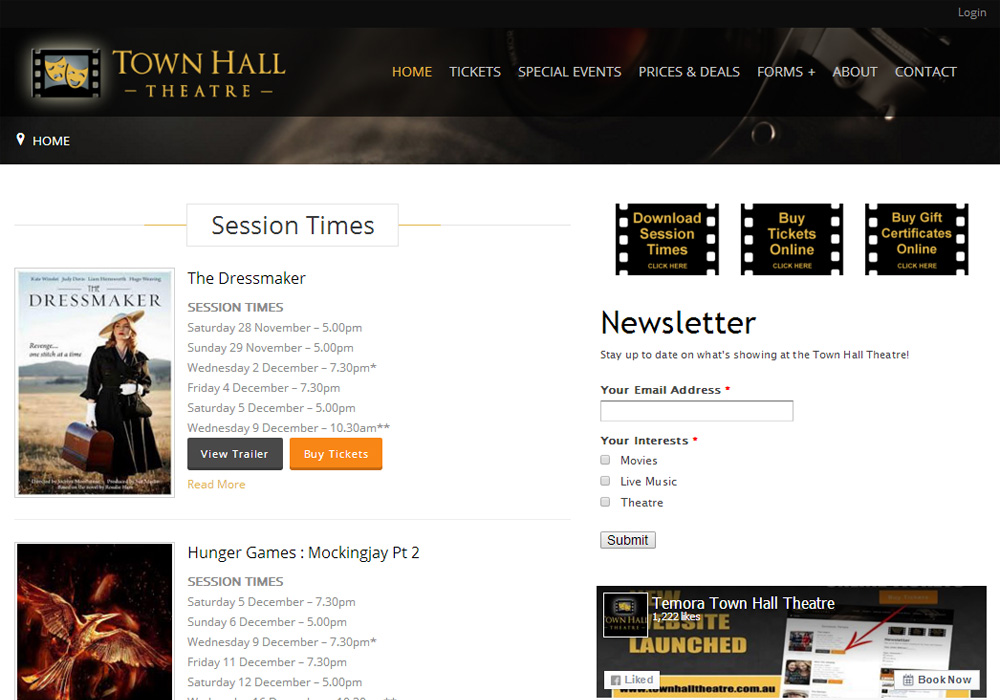 <br/>Town Hall Theatre