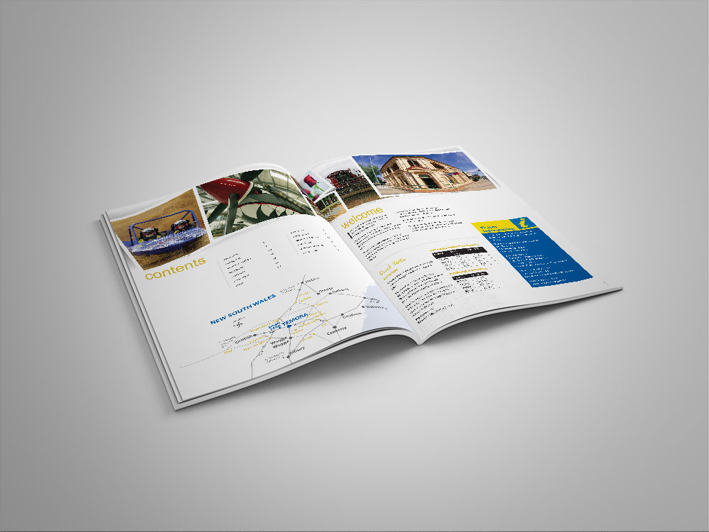 Visitor Information Guide inside pages