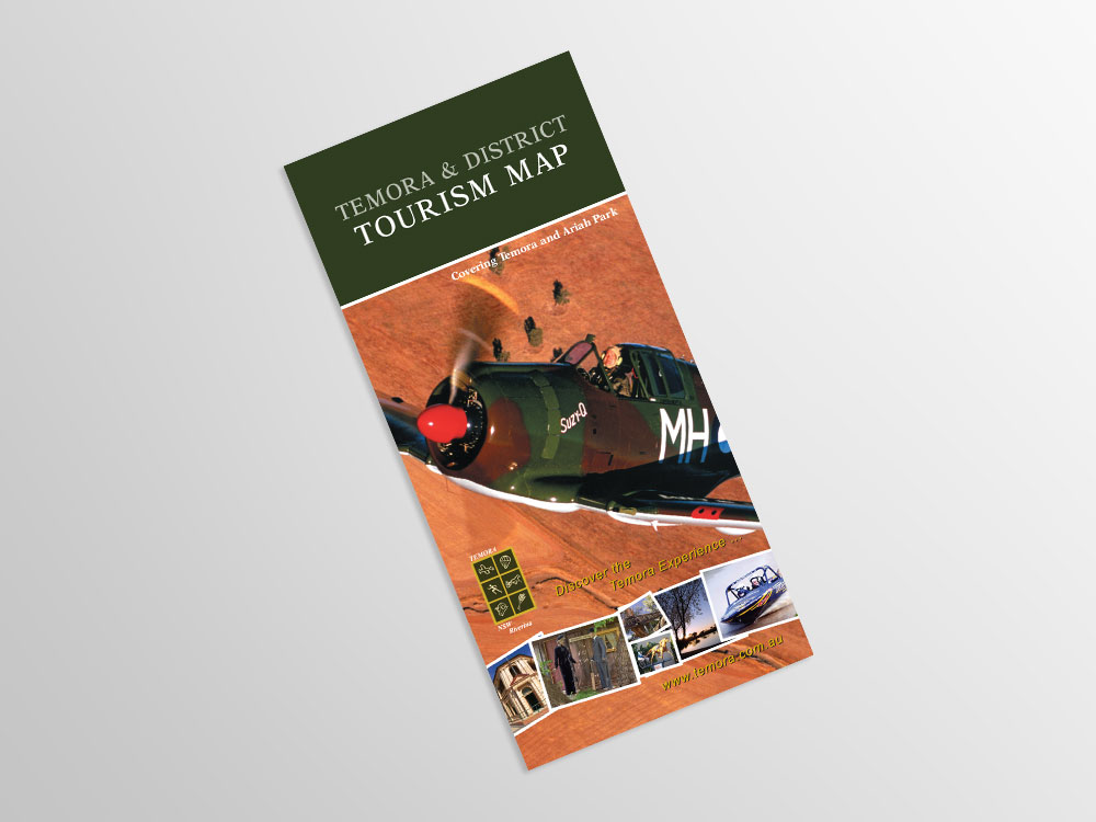 Temora Tourism Map cover